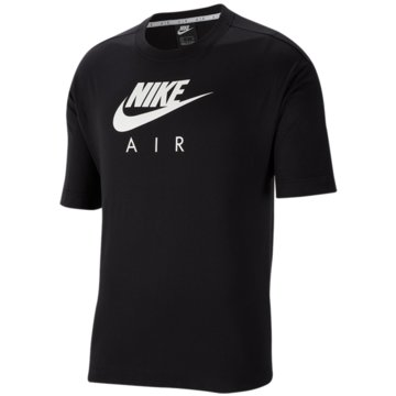 Nike T-ShirtsAir Short Sleeve Top schwarz