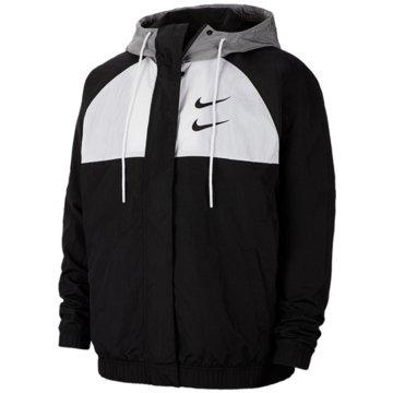 Nike SweatjackenSportswear Swoosh Jacket schwarz
