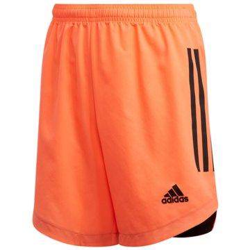 adidas Fußballshorts orange