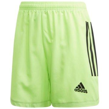 adidas Fußballshorts grün