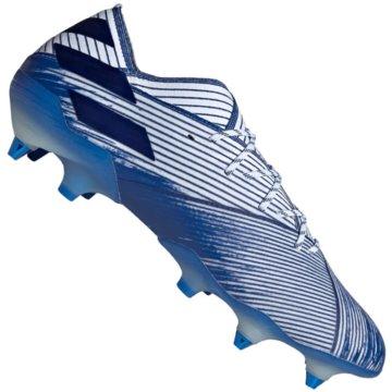 adidas Stollen-SohleNemeziz 19.1 SG blau