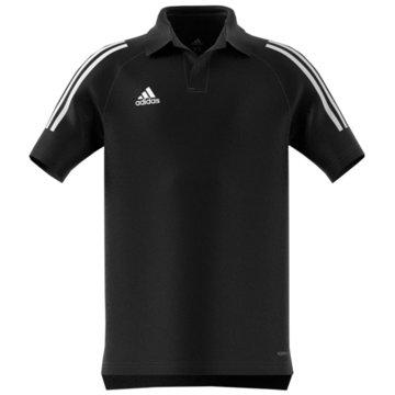 adidas Poloshirts schwarz