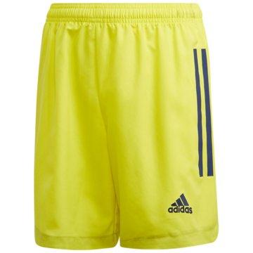 adidas Fußballshorts gelb