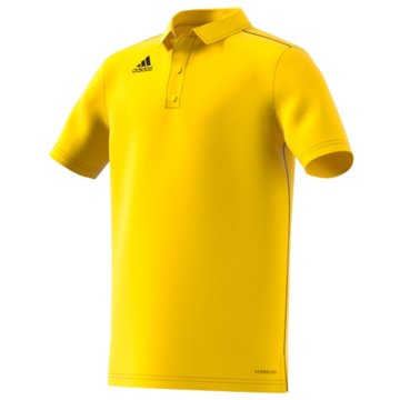adidas PoloshirtsCORE18 POLO Y - FS1903 gelb