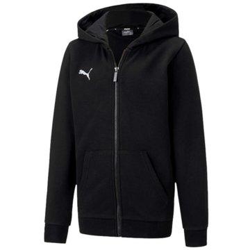 Puma Sweatjacken schwarz