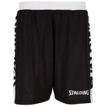 Spalding Basketballshorts schwarz