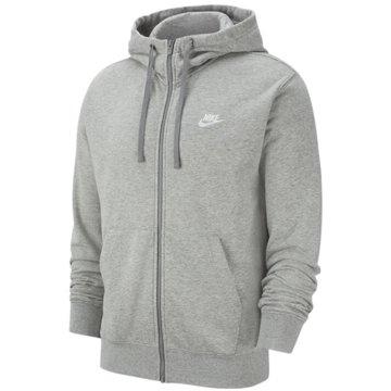Nike SweatjackenM NSW CLUB HOODIE FZ FT - BV2648 grau