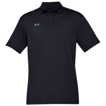 Under Armour Poloshirts PERFORMANCE STRUKTURIERTES POLOSHIRT - 1342080 schwarz