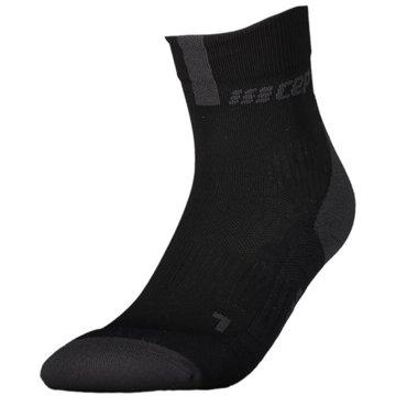 CEP Hohe Socken SHORT SOCKS 3.0, BLUE/GREY, WOM - WP4BX schwarz