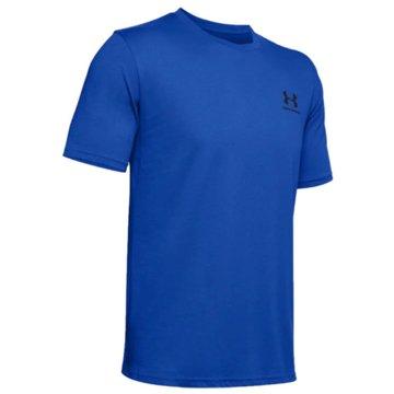 Under Armour Funktionsshirts blau