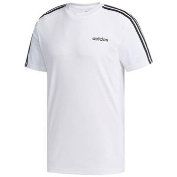 adidas T-ShirtsDesign2Move 3-Stripes Tee weiß