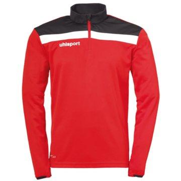 Uhlsport SweatshirtsOFFENSE 23 1/4 ZIP TOP - 1002212K rot