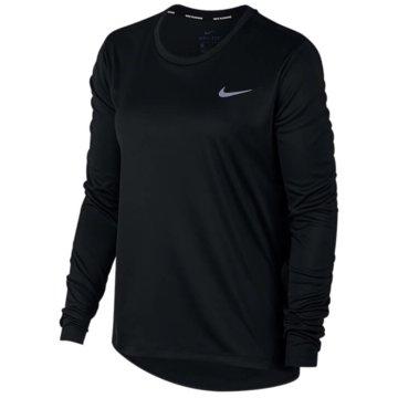 Nike LangarmshirtNIKE MILER WOMEN'S RUNNING TOP - AJ8128 schwarz