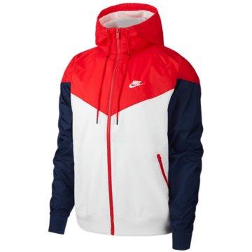 Nike SweatjackenNike Sportswear Windrunner Hooded Windbreaker - AR2191-104 weiß