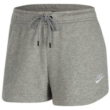 Nike kurze SporthosenNIKE SPORTSWEAR ESSENTIAL WOMEN'S grau