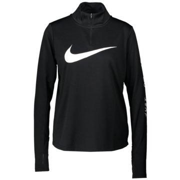 Nike LangarmshirtNike Women's 1/4-Zip Running Top - CK0175-010 schwarz