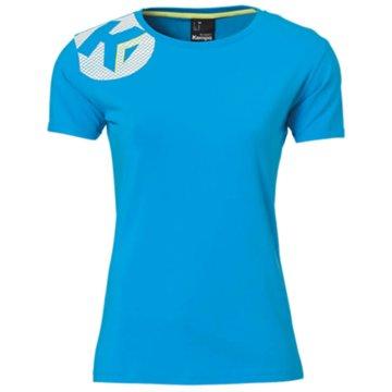 Kempa T-Shirts blau