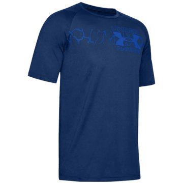 Under Armour T-ShirtsORIGINATORS BAR SS - 1352045 blau