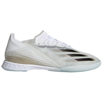 adidas Hallen-SohleX Ghosted.1 IN weiß