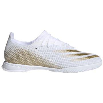 adidas Hallen-SohleX Ghosted.3 IN weiß
