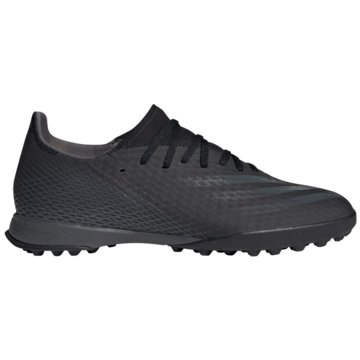 adidas Multinocken-SohleX GHOSTED.3 TF FUßBALLSCHUH - EH2835 schwarz