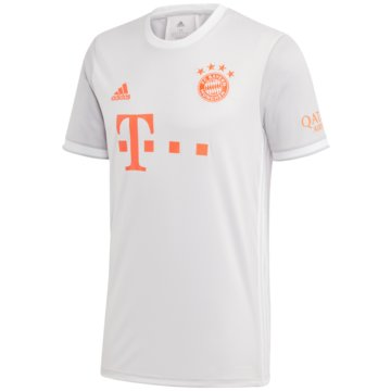 adidas FußballtrikotsFC BAYERN MÜNCHEN 20/21 AUSWÄRTSTRIKOT - GE0583 grau