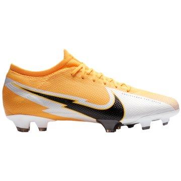 Nike Nocken-SohleNike Mercurial Vapor 13 Pro FG Firm-Ground Soccer Cleat - AT7901-801 orange