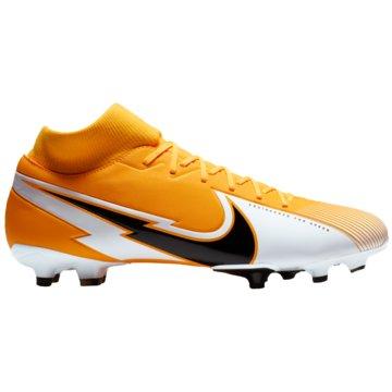 Nike Nocken-SohleMERCURIAL SUPERFLY 7 ACADEMY MG - AT7946-801 orange
