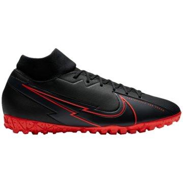 Nike Multinocken-SohleNike Mercurial Superfly 7 Academy TF Artificial-Turf Soccer Shoe - AT7978-060 schwarz