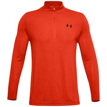 Under Armour LangarmhemdenFITTED CG CREW - 1351452 rot