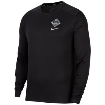 Nike SweatshirtsNike Pacer Wild Run Men's Graphic Running Crew - CU6050-010 -