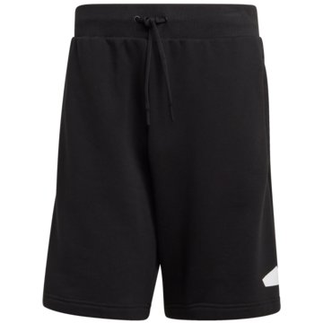 adidas kurze Sporthosen SPORTSWEAR BADGE OF SPORT SHORTS - GM6468 schwarz