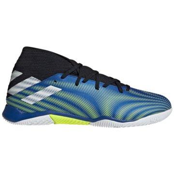 adidas Hallen-SohleNEMEZIZ.3 IN FUßBALLSCHUH - FW7409 blau