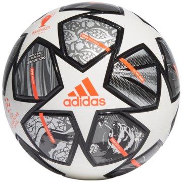 adidas FußbälleFINALE 21 20TH ANNIVERSARY UCL JUNIOR 290 LEAGUE BALL - GK3480 weiß