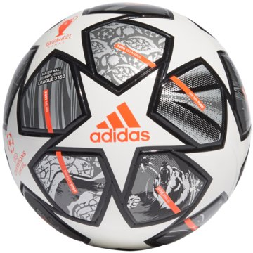 adidas FußbälleFINALE 21 20TH ANNIVERSARY UCL JUNIOR 350 LEAGUE BALL - GK3481 weiß