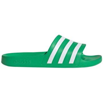 adidas Badelatsche4064039553827 - FY8048 grün