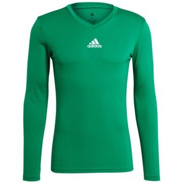 adidas FußballtrikotsTEAM BASE LONGSLEEVE - GN7504 grün