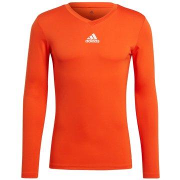 adidas FußballtrikotsTEAM BASE LONGSLEEVE - GN7508 orange