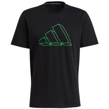 adidas T-Shirts SPORTSWEAR GRAPHIC T-SHIRT - GM6366 schwarz