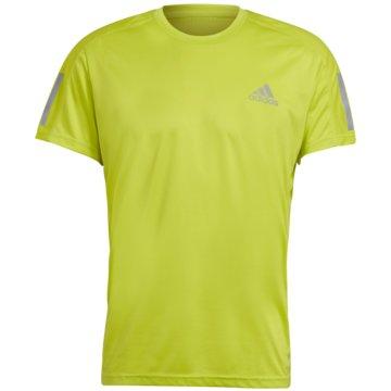 adidas T-ShirtsOWN THE RUN T-SHIRT - GJ9965 gelb