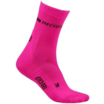 CEP Hohe SockenNeon Compression Mid Cut Socks Women pink