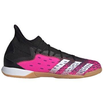 adidas Hallen-SohlePREDATOR FREAK.3 IN FUßBALLSCHUH - FW7518 schwarz