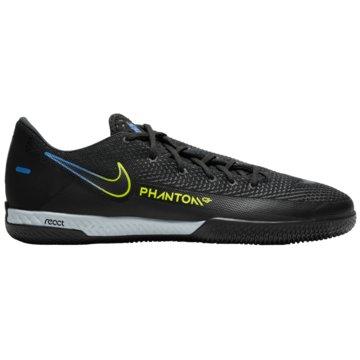 Nike Hallen-SohleREACT PHANTOM GT PRO IC - CK8463-090 schwarz