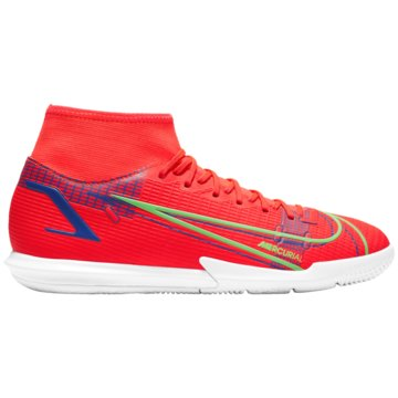 Nike Hallen-SohleMERCURIAL SUPERFLY 8 ACADEMY IC - CV0847-600 rot