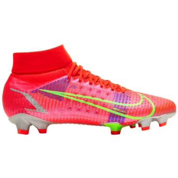 Nike Nocken-SohleMercurial Superfly 8 Pro FG rot