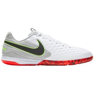 Nike Hallen-SohleREACT TIEMPO LEGEND 8 PRO IC - AT6134-106 weiß