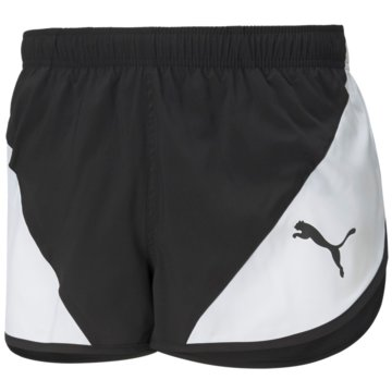 Puma LaufshortsCROSS THE LINE SPLIT SHORT - 520350 schwarz