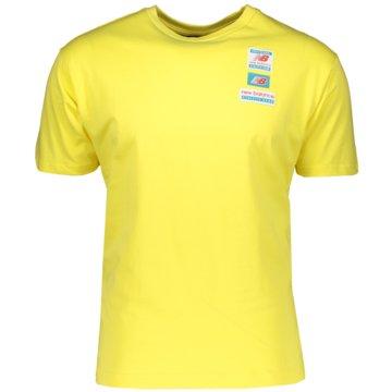 New Balance T-ShirtsNB ESS TEE - MT11516_FTL gelb