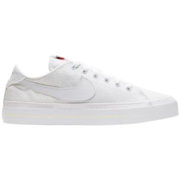 Nike Sneaker LowCOURT LEGACY CANVAS - CZ0294-100 weiß