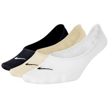 Nike Füßlinge & SneakersockenEVERYDAY LIGHTWEIGHT - SX4863-900 weiß